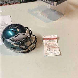 Other - Jalen Mills Autograph Signed Eagles Helment JSA